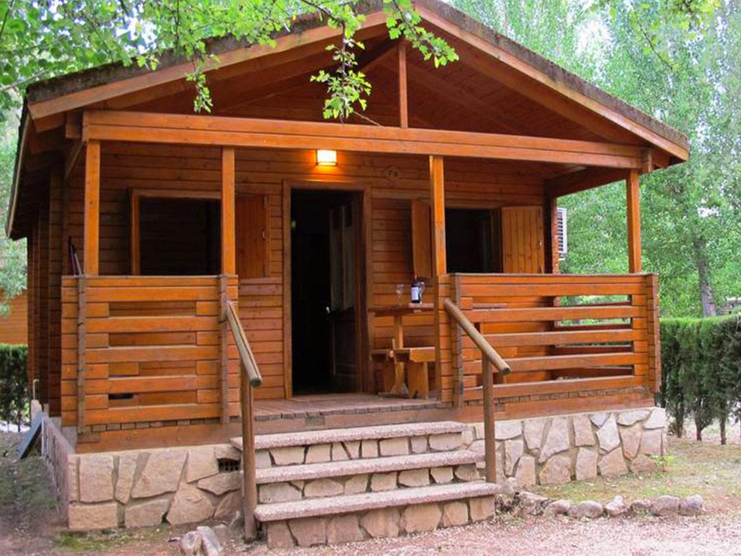 Llanos de arance camping rural en cazorla - Casa rural de madera ...